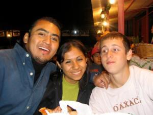 Alberto, Wendy, and John.