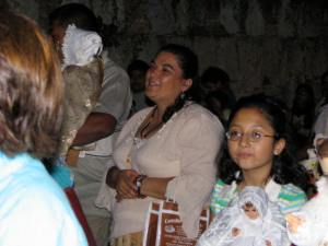 This blessing on February 2 marks the end of the Christmas season in Oaxaca.