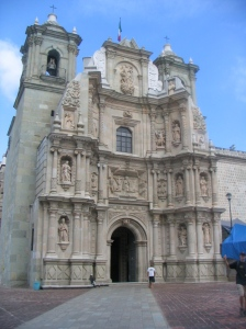 Cathedral in Oaxaca