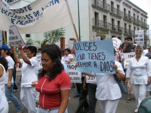 Marchers - Ulises aren't you afraid of God?