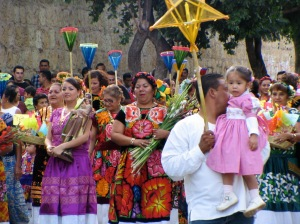 Religious celebrations are common in Oaxaca too.