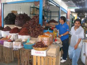 Wonderful Oaxacan market.