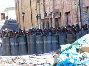 PFP barricade.