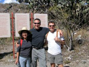 Flor, John, & Wayne at Yugul.