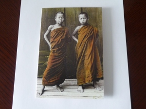 """The Acolytes"" from the Burma Collection by Darvis: ""If you find truth in any religion, accept that truth"""