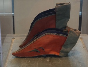 Forbidden photo in the Wuzhen Foot-Binding Museum.  Photo from Alain