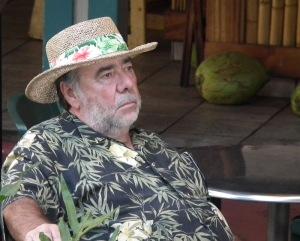 Pensive man in Lahaina