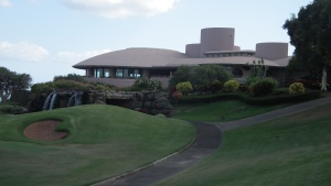 """The Marilyn Monroe House"" set on a Maui golf course.*"