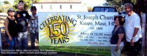 Anniversary celebration at St. Joseph's