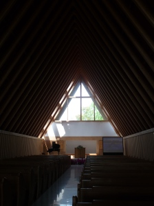 Church in an up-scale planned community near Hangzhou, China