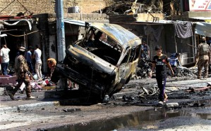 Iraq coordinated car bombings - 60 dead