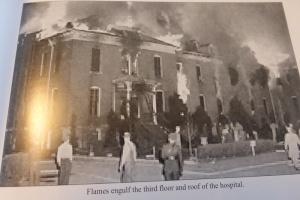 St. Anthony Hospital fire.