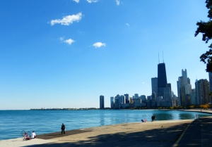 Chicago lakefront - Lake Michigan, a wonderful place to be.