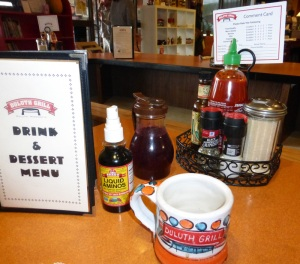 """The Duluth Grill, featured in """"Diners, Drive-ins, and Dives."""""""