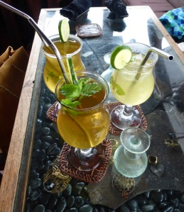 Kizmet in Ubud uses metal straws.