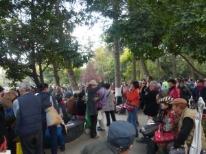 Sunday in Green Lake Park, Kunming, Yuannan