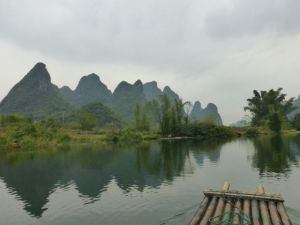 Karsts along the Yulong River