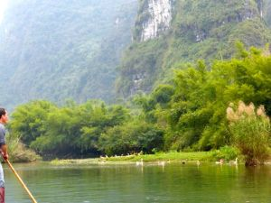 Ducks on the Yulong River