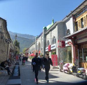 Old City Dali pedestrian street.