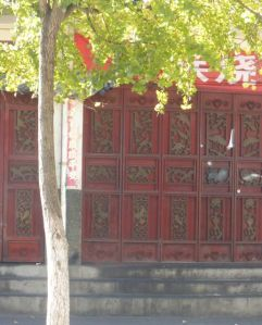 Beautiful gates and doors in Old City Dali.
