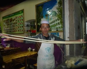 Our friendly Muslim noodle man.