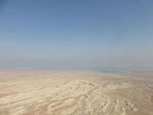 Masada - on the fringe of the Judean Desert.