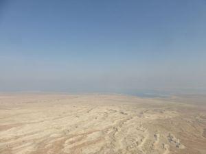 Masada - on the fringe of the Judean Desert.