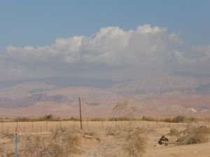 That's Jordan we can see from Kibbutz Lotan!