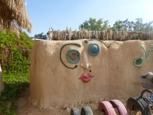 Welcome to the Lotan Eco Kef - where you can learn many sustainable techniques including how to plant vegetables, make mud and straw brick, use recycled material in creative ways, and make pancakes over a wood oven.