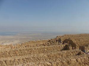 Masada ruins.