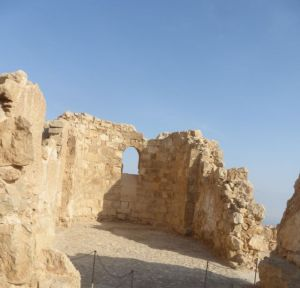 The remains of a Byzantine church.