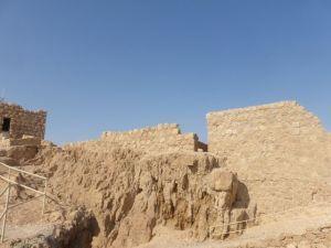Masada inner walls and rooms.