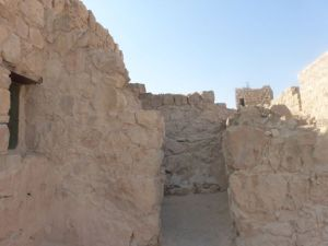 Masada passageways.