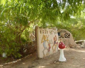 Kibbutz Lotan - art