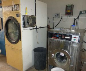 Not as romantic as the bicycle washing machine, but these units are practical.