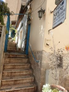 Jerusalem stairway