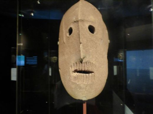 Large mask - 9,000 years old