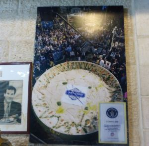 Largest hummus created by the Abu Ghosh village.
