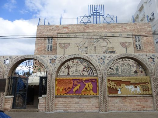 The Tunisian Synagogue in Akko.