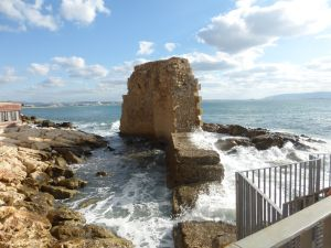 Ancient Acre sea wall