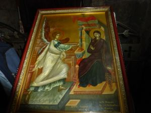 Painting of the Annunciation. xx