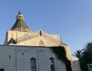 Basilica of the Annunciation in Nazareth