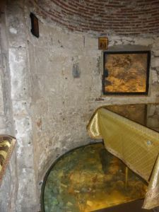 The site of the tomb of Jesus