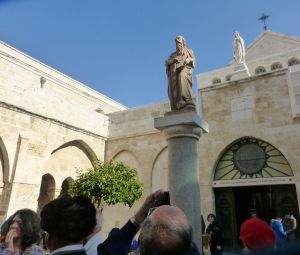 Outside the Church of the Nativity - monasteries xxxx
