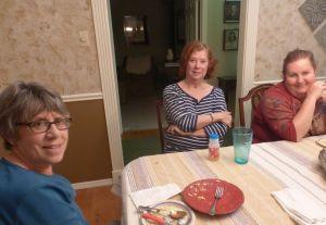Trish, Elaine, and Erika