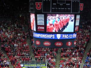 We saw the PAC - 12 Women's Gymnastic Championships