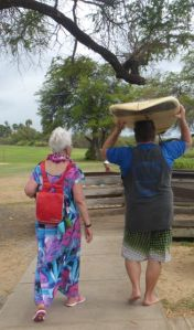 On the way to the water's edge - Darlene & John L. xx