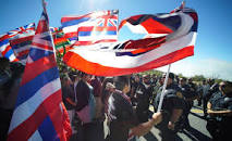 Protests against telescopes being added to Haleakala and Mauna Kea - - cultural disrespect.