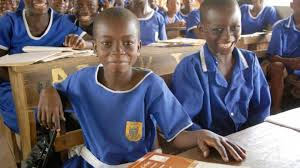Children at school in Ghana