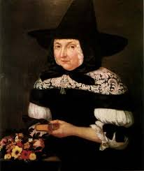 Not - Mary Bliss Parsons - this hat would not be the thing to wear to your witchcraft trial
